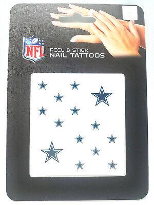 Dallas Cowboys  Peel & Stick Nail Tattoos ()