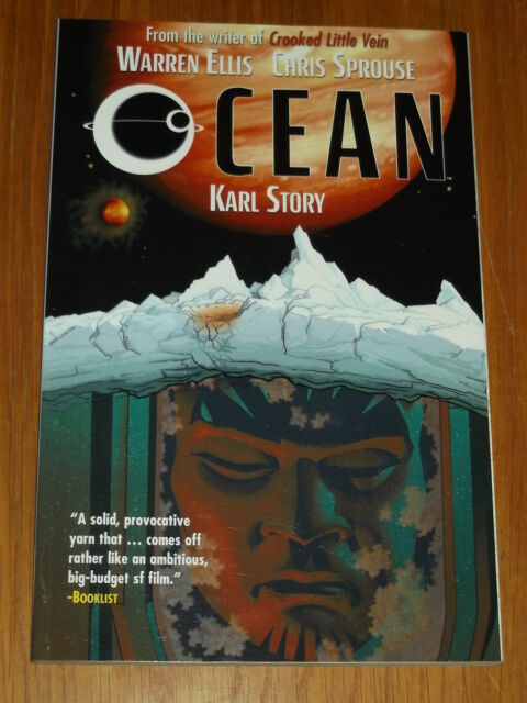 OCEAN WILDSTORM KARL STORY WARREN ELLIS CHRIS SPROUSE GN 9781401223540 <