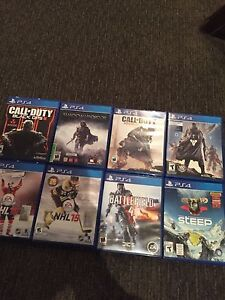 8 PS4 games for $80