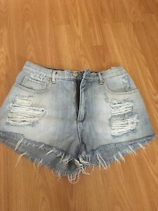 Garage HighWaisted Shorts