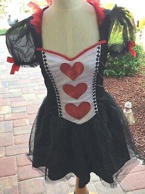 Womens Queen of Hearts Costume Sexy Short (Womens Queen Of Hearts Kostüm)