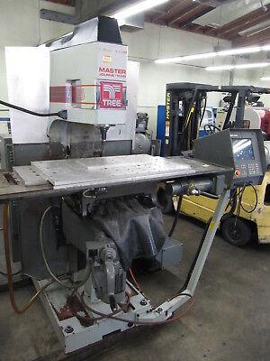 Tree Journeyman 425 3-axis Cnc Knee Mill 30x15 Travels 40-taper 5-hp