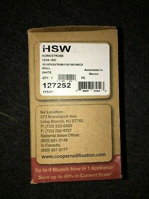 Cooper Wheelock Hsw New In Box - Free Shipping