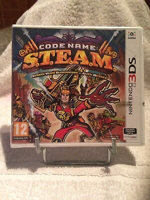 Steam Code Name Neuf ( Nintendo 3Ds )
