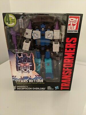 Transformers Titans Return Leader Class Dreadnaut & Decepticon Overlord~MISB