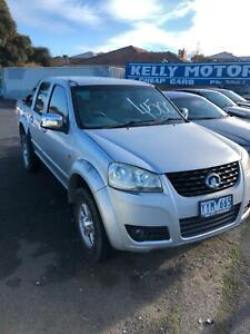 2012 Great Wall duel cab man ute Oakleigh East Monash Area Preview