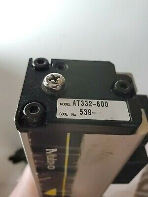 Mitutoyo At332-800 Linear Encoder Glass Scale Used
