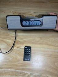 iHome Alarm Clock Radio,iPod Docking Station Model iH5B