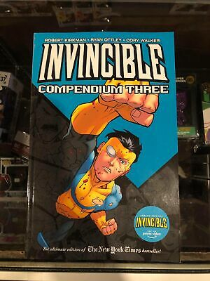 INVINCIBLE COMPENDIUM TP VOLUME 3 DAMAGED / PRIME CARTOON REPS #97-144