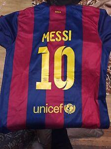 Selling Barcelona messi shirt 2014/15 season Windsor Region Ontario image 1