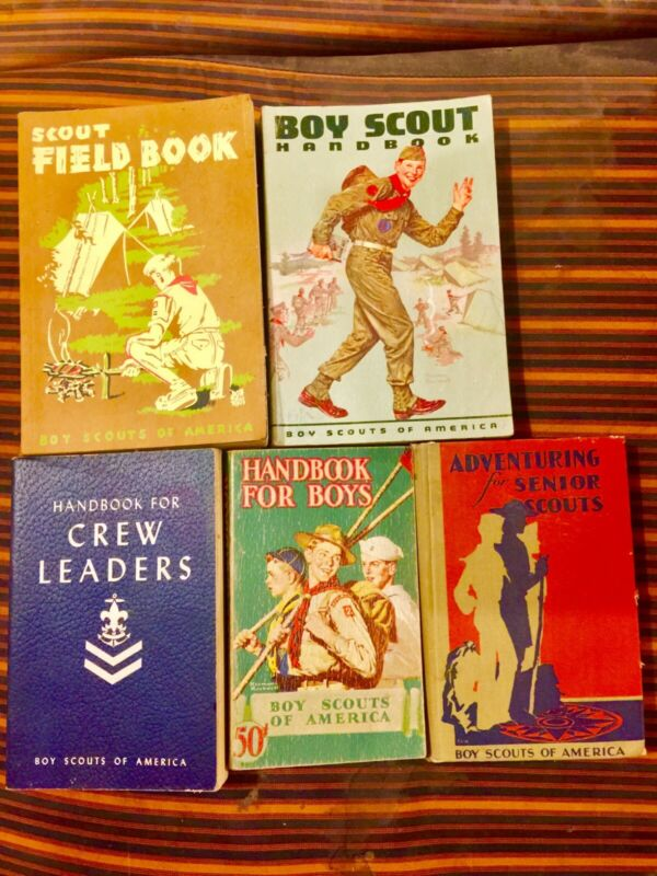 Boy Scout HandBook 6th Edition 1959 boy scouts of america vintage antique old