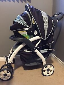 car seat and stroller Combo $110