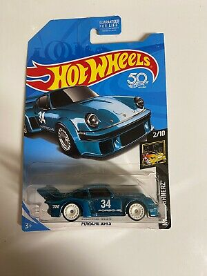 Hot Wheels Porsche 934.5 Aqua Blue 2018 Super Treasure Hunt