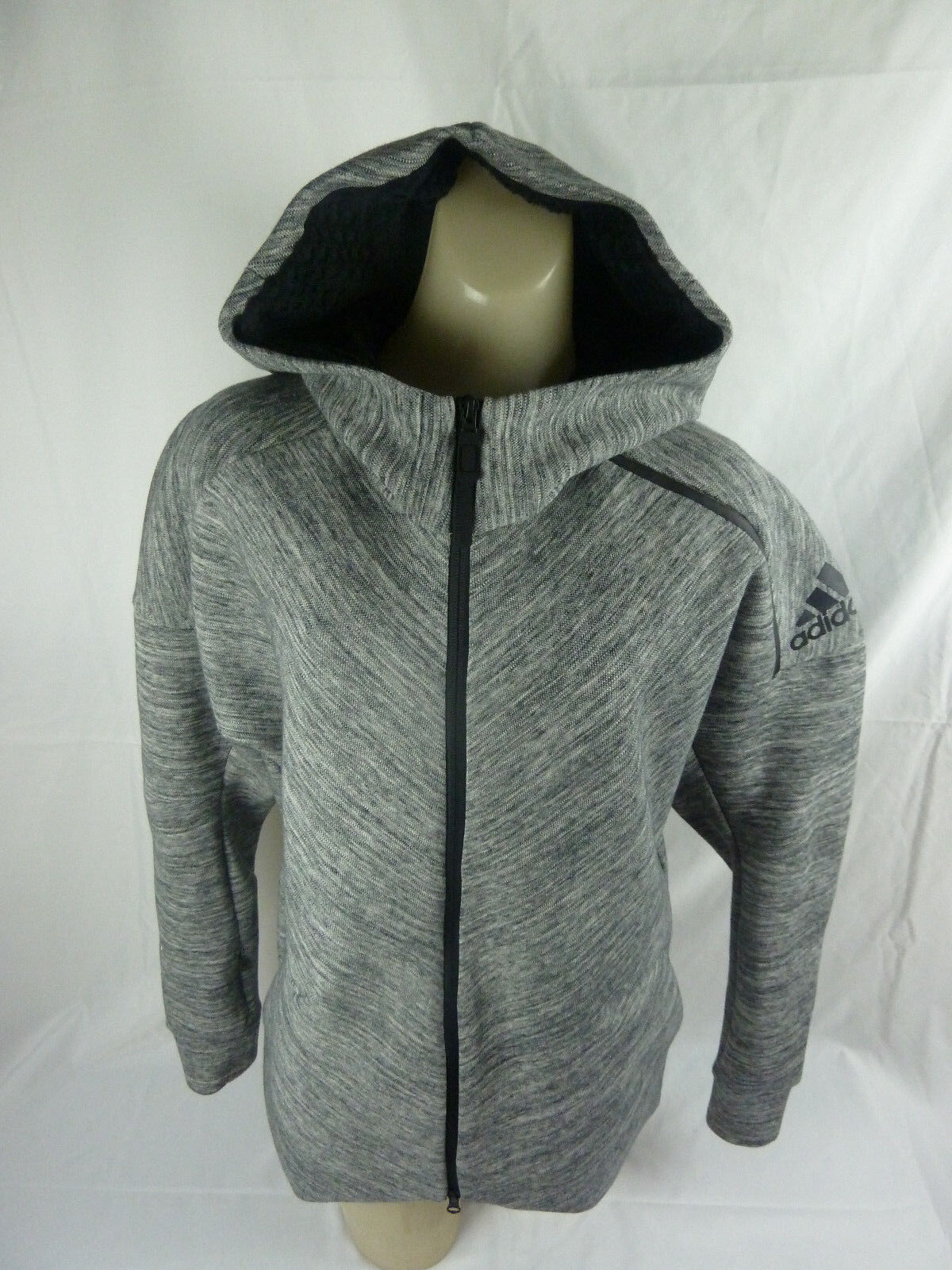 best selling low cost picked up NEW adidas Originals ZNE Road trip Hoodie Jacket Women's Training Grey  B46968 M