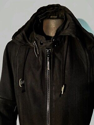 Yohji Yamamoto POUR HOMME Wool blend Zip Runway Jacket Size 5