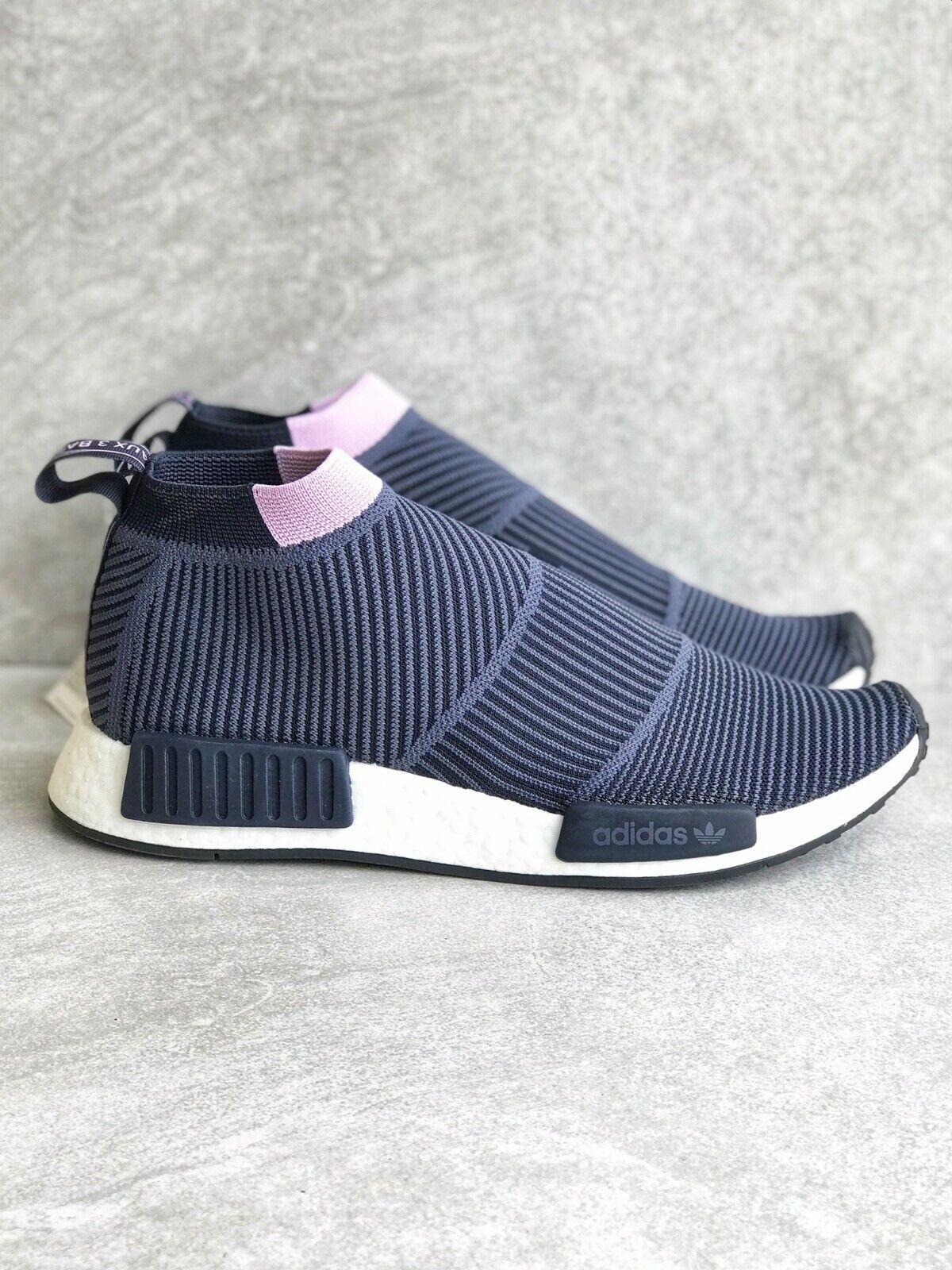 ADIDAS NMD CS1 Primeknit Sneakers Navy Womens B37657 CITY SO