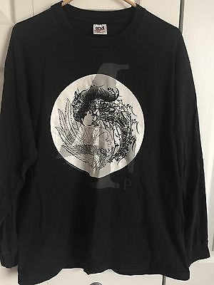 VINTAGE DANZIG 4 LONG SLEEVE T SHIRT TOUR CONCERT SIZE XL ORIGINAL Misfits