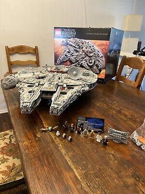 LEGO (75192) Star Wars Millennium Falcon 100% Complete Ultimate Collector Series