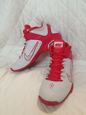sports shoes e138f 4631b NIKE 587562 016 WOMENS NIKE AIR VISI PRO IV RED AND WHITE size 10
