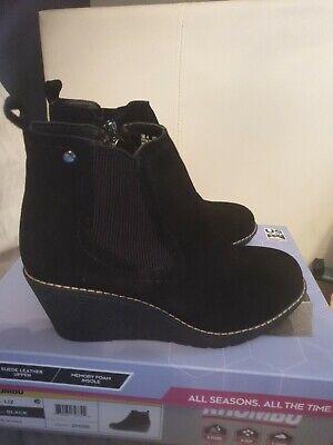Womens Khombu All Season Wedge Boots Bnib Size Uk 4