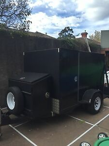Enclosed trailer with ramp tailgate Ballarat Central Ballarat City Preview