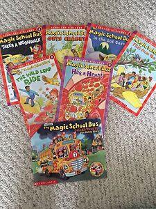 The magic school bus books