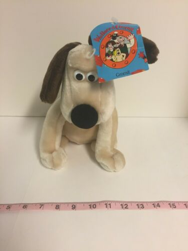 Vintage Gromit Plush Toy NWT Wallace and Gromit 1989 Aardman