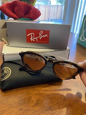 Authentic Ray-Ban Gatsby Mirror Unisex Sunglasses RB4257- size (Gatsby Mirror)