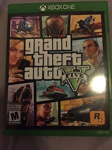 Brand new xbox one GTA 5