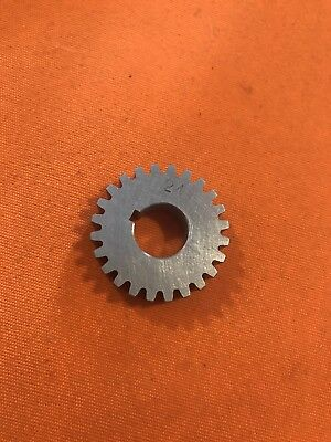 South Bend 910k Metal Lathe 24 Tooth Stud Gear. Made In The Usa
