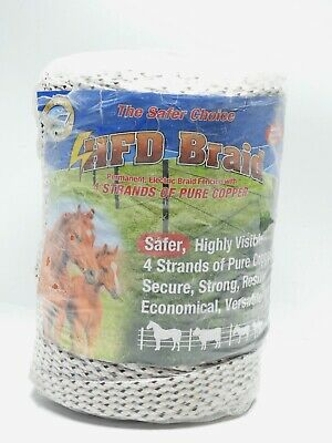 Horse Fence Direct Highly Visible Electric Fencing 1000ft 14 Hfd Braid 2500