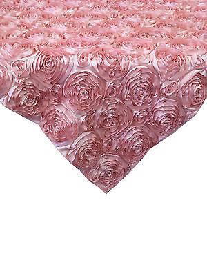 Pink Satin Rosette - 10 Pink 54