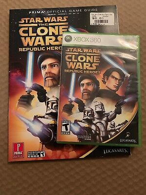 Star Wars: The Clone Wars - Republic Heroes (Microsoft Xbox 360) With