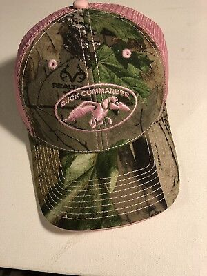Duck Dynasty Women (New With Tags Duck Commander - Duck Dynasty Women's Pink Camo Logo Hat)