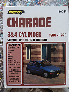 Diahatsu Charade 1980 to 1993 Gregorys Service &Repair Manual Queenstown Port Adelaide Area Preview