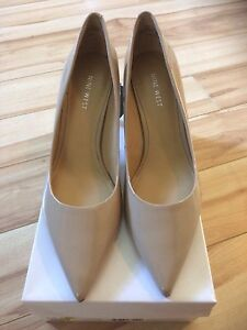 Nude patent leather NineWest size 7.5