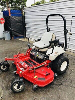 """Exmark 60"""" Lazer Z zero turn Ride On commercial mower Kohler Pro Toro Lawnmower"""