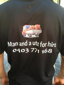 Man and ute for hire Meadowbank Ryde Area Preview