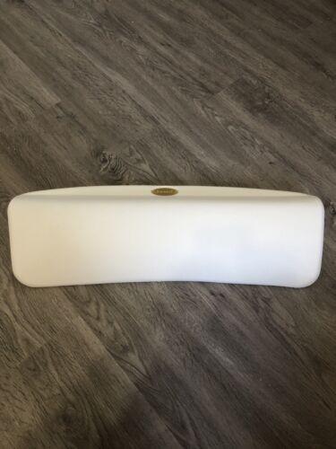 """Jacuzzi EK91959 White 7.5""""x21"""" Straight Tub Pillow"""