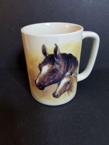 Otagiri coffee cup mug horses