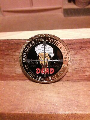 MILITARY-SEAL TEAM SIX-CHALLENGE COIN!