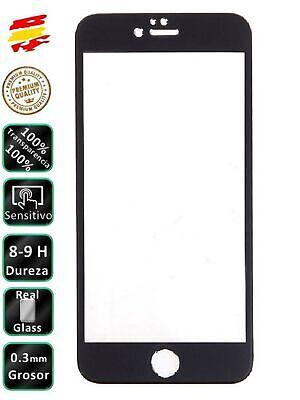 Protector COMPLETO IPhone 7 Plus Negro Completo 3D Cristal Templado de Pantalla
