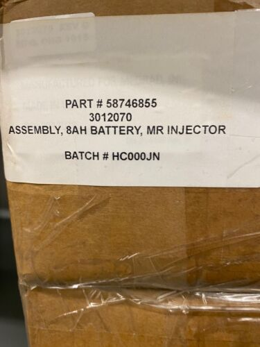 NEW Medrad Spectris Solaris EP Bayer Battery Pack for MR INJECTOR SYSTEM