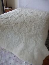 COTTON HOUSE reversible WOOL UNDERBLANKET KING BED - CREAM Mosman Mosman Area Preview
