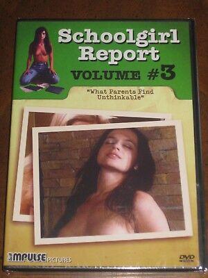 SCHOOLGIRL REPORT: VOL. 3 - WHAT PARENTS FIND UNTHINKABLE (DVD) BRAND - Teen Schoolgirl Movies