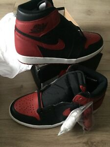 Air Jordan Bred (Banned) 1's Size 10.5