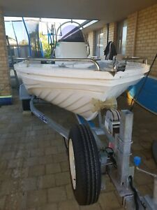 2014 Polycraft 4.1m centre console with 30hp etec 260hrs