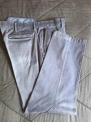 English Laundry Comfort Chino Straight Leg Pants Flex Waist Blue Mens 40x32