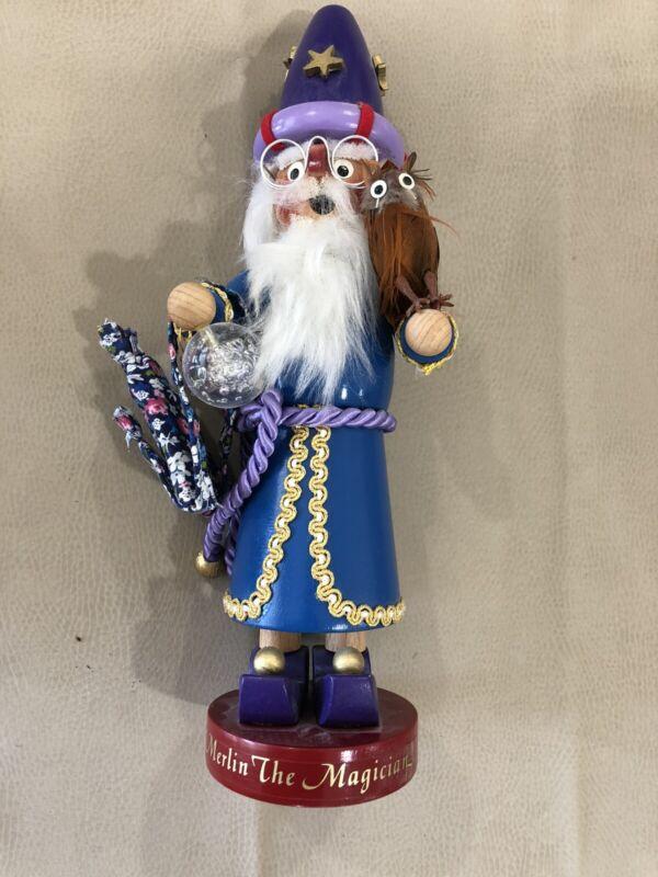 Merlin The Magician Steinbach Nutcracker Limited Edition 12 Inch