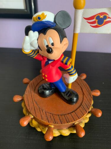 WDCC Mickey Mouse Welcome Aboard Photo Holder Disney Cruise Line Souvenir WDW